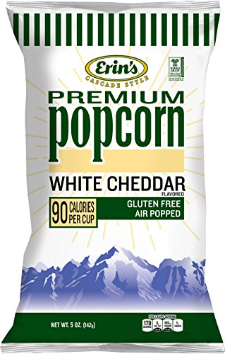 Buy Erin's Popcorn, White Cheddar, 15 Count