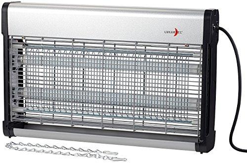 Lunartec Mückenlampe: UV-Insektenvernichter IV-630 mit austauschbarer UV-Röhre, 37 Watt (Insektenkiller elektrisch)