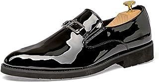 2fc372de60f77 Starttwin Men Dress Shoes Unique Print Flower Shoes Slip on Camo Wedding  Oxford Shoes