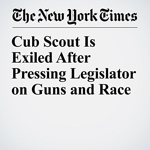 Cub Scout Is Exiled After Pressing Legislator on Guns and Race copertina