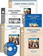 First Form Latin Set (Teacher Manuals, Student Text, Workbook, CD) (Memoria Press)