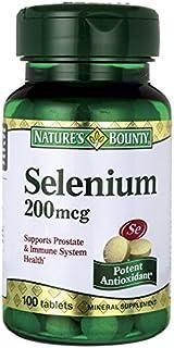 Nature s Bounty Selenium 200 mcg 100 Tablets