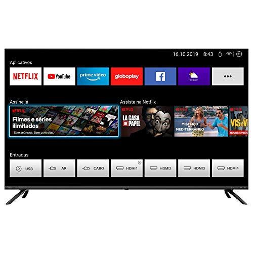 "Smart TV Philco 50"" PTV50G70SBLSG Ultra HD 4K"