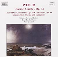 Clarinet Quintet by WEBER (1995-07-18)
