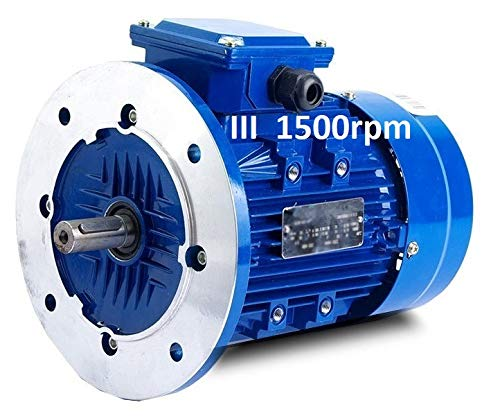 MOTOR TRIFASICO 0,37 KW / 0,5 CV B5 1500 RPM
