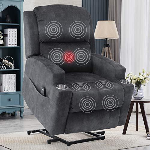 ANJ Power Lift Recliner Chairs for Elderly Heavy Duty Reclining Chair