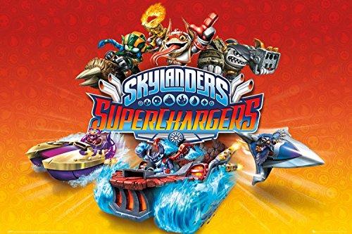 1art1 Skylanders - Superchargers, Charaktere Poster 91 x 61 cm