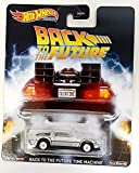 Hot Wheels Premium Back to The Future Time Machine - Real Riders