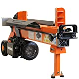 Forest Master 5 TON ELECTRIC LOG SPLITTER WOOD AXE HYDRAULIC CUTTER WITH DUO BLADE