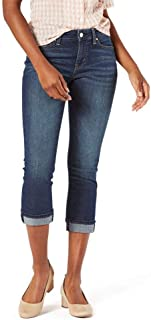 Women's Mid-Rise Slim Fit Capris