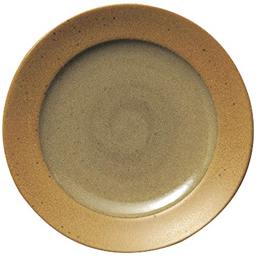 和(なごみ) ガイヤ マスタード 17cm パン プレート 16.8cm×2.4cm 17212360
