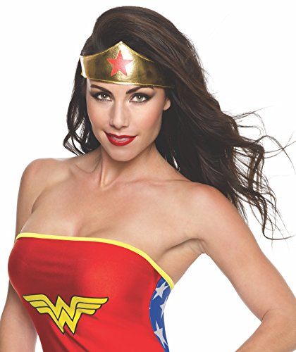 Rubie's - Tiara per costume da Wonder Woman, da donna, prodotto ufficiale (multicolore)