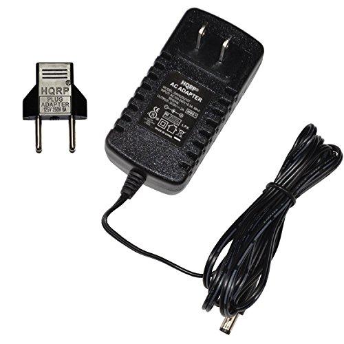 HQRP AC Netzadapter/Netzkabel für Panasonic EW3152W/EW3153W Blutdruckmessgerät
