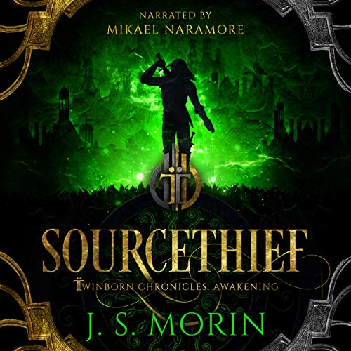 Sourcethief audiobook cover art