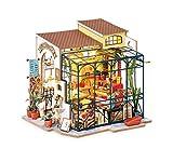 Rolife Kit De Casa De Muñecas En Miniatura De Bricolaje Modelo De Kit Creativo De Muebles DIY Decoración Del Hogar Modelo De Casa En