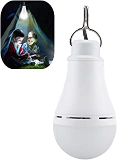 Riuty Bombilla de luz LED para Acampar, 1.8 Metros de Alambre, lámpara de luz Nocturna Regulable para Uso al Aire Libre, lámpara portátil USB para Acampar al Aire Libre de Emergencia