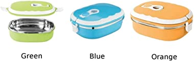 PP+304 Stainless Steel Portable Food Warmer School Students Lunch Box Case Thermal Insulated Container|Lunch Boxes| |