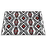 Set di 6 Tovagliette Native American Rain Pattern Grey Lavabile Antiscivolo Resistente al Calore per la Cucina e la tavola 45x30cm