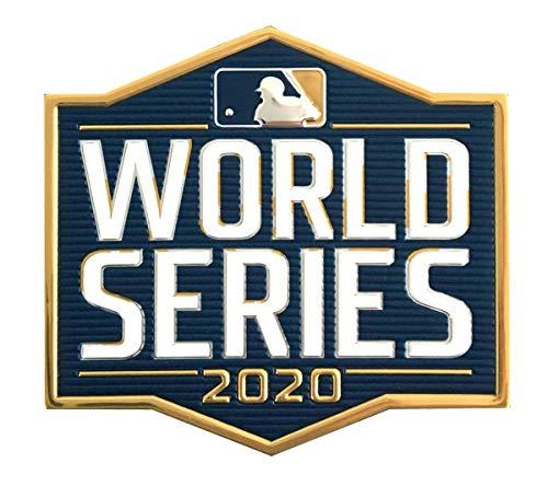 2020 MLB Major League Baseball World Series EmbossTech Collectors Patch