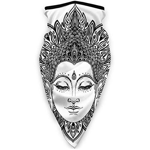 NA Meditation Buddha Gesicht Ornate Mandala Runde Esoterische Vintage Indische...