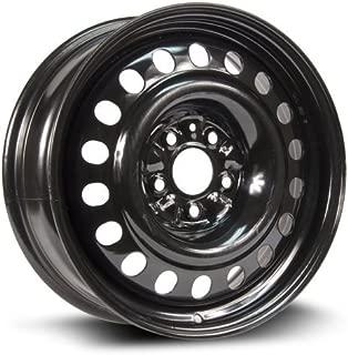 RTX, Steel Rim, New Aftermarket Wheel, 17X7, 5X114.3, 67.1, +40, black finish (MULTI APPLICATION FITMENT) X47567