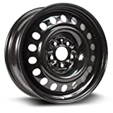 RTX, Steel Rim, New Aftermarket Wheel, 17X7, 5X114.3, 66.1, 45, black finish X47561