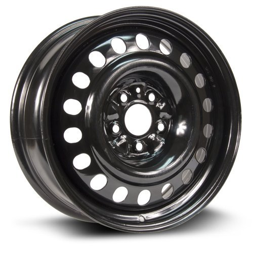 RTX, Steel Rim, New Aftermarket Wheel, 17X7, 5X114.3, 67.1, +40, black finish (MULTI APPLICATION FITMENT) X47567