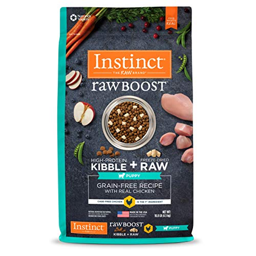 Instinct Raw Boost Puppy Grain Free Recipe with Real Chicken Natural Dry Dog Food by Nature
