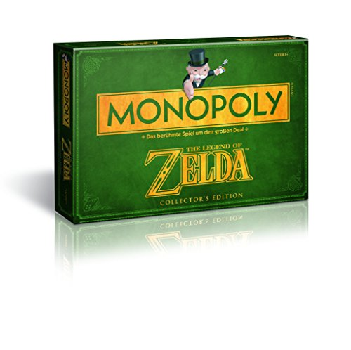 Winning Moves 43508 – Monopoly : The Legend of Zelda Collector's Edition