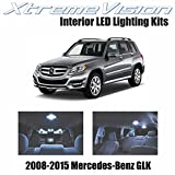Xtremevision Interior LED for Mercedes-Benz GLK 2008-2015 (17 Pieces) Cool White Interior LED Kit + Installation Tool