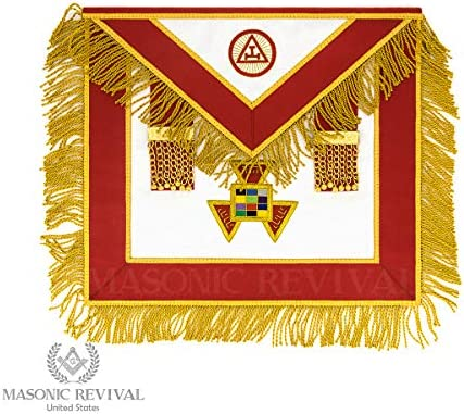 Masonic Revival - Reserve Past High Priest Apron (Royal Arch) (Synthetic Leather)