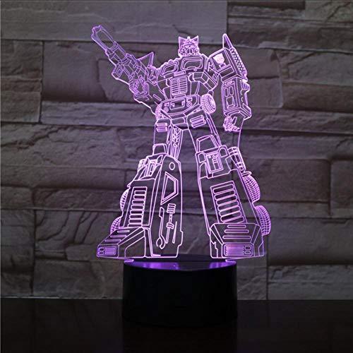 Layyqx Led-nachtlampje voor in de auto, met 7 kleuren, voor kinderen, touch-led-bureaulamp, usb-nachtlampje voor kinderen