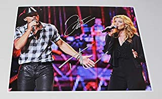 Faith Hill Tim McGraw It`s Your Love Signed Autographed 11x14 Glossy Poster Photo Loa