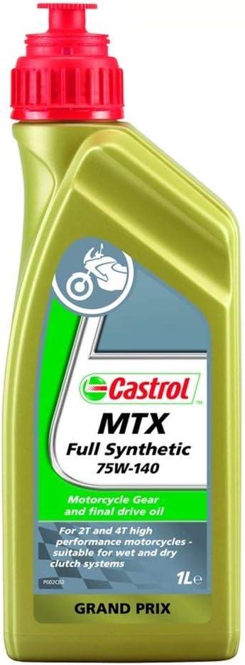 Castrol MTX SAE 75W-140 54098 - Aceite de Caja de Cambios, 54098sintético MTX SAE 75W-140, 1litro