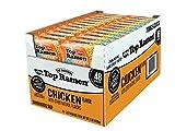 Product of Nissin Top Ramen Chicken Flavor Noodle Soup, 48 pk./3 oz. [Biz Discou