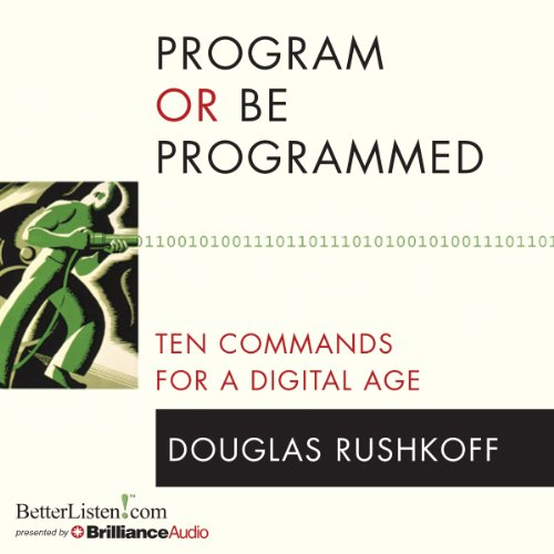 Program or Be Programmed audiobook cover art