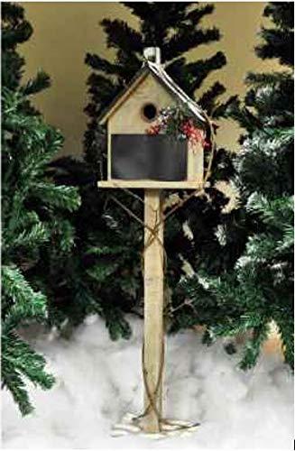 Kingfisher Christmas Xmas Festive Garden Bird House Ornament Decoration
