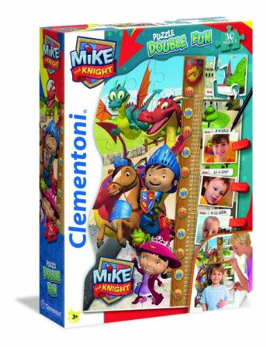 Clementoni 20307.9 – Puzzle Double Fun Mike Le Chevalier