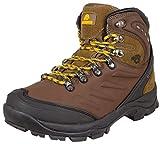 Guggen Mountain Gli Uomini Scarpe da Trekking Scarpe da Trekking Alpini Si Stivali Scarpon...