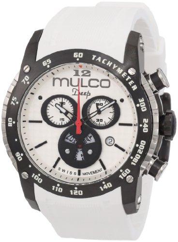 Mulco Unisex MW1-29878-015 Deep Scale Chronograph Swiss Movement Watch: Watches