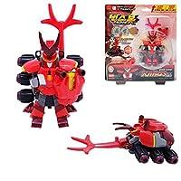 [Bugs Bot]バックスボット イグニッション 2段変身ロボット(カロス)/カブトムシとロボットに変身可能/攻撃力と防御力を高め、アップグレードロボット/ Transformation Bugs Robot KAROS[並行輸入品]
