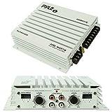 PYLE Amplificador Impermeable Marino para Uso NÁUTICO PLMRA400 4 Canales DE 200 Watt RMS Y 400 Watt...