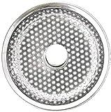 lidun Tapón para fregadero de alta calidad, filtro de acero inoxidable, filtro de fregadero con extensión de pelo de cocina para accesorios de baño y cocina (2 unidades)