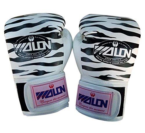BLANCHO BEDDING 10 oz Tiger Stripes la Formation des Adultes Gants de Boxe pour Kickboxing, Sparring, Muay Thai