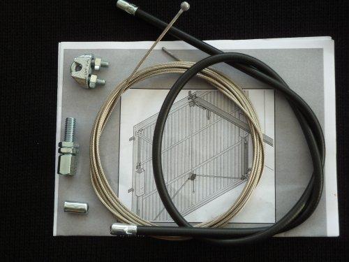 Berner Torantriebe Notentriegelungs-Set NES-S f.Schwingtore Garagentorantrieb 4250035403918