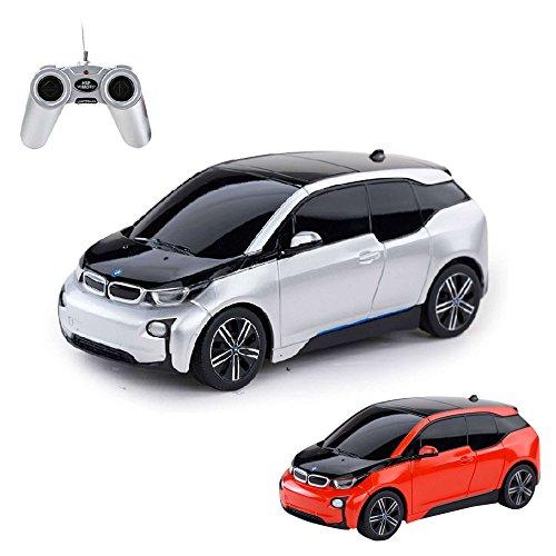 BMW i3 - RC ferngesteuertes Lizenz-Fahrzeug im Original-Design, Modell-Maßstab 1:24, Ready-to-Drive, Auto inkl. Fernsteuerung