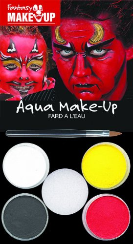 KREUL 37084 Fantasy Aqua Make Up Picture Pack Teufel