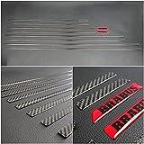Mercedes Side Body Mouldings Inserciones de carbono 10pcs Set G-Class W463A W464 G500 G63