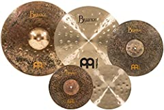 """The Meinl Mike Johnston cymbal box set contains a variety of Byzance models that Mike chooses for his standard set up when conducting lessons and performing Included in the box are 14"""" Byzance extra dry medium Hi Hats, 20"""" Byzance extra thin hammered..."""