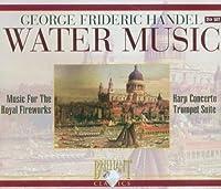 ヘンデル:水上の音楽、王宮の花火の音楽(2枚組)